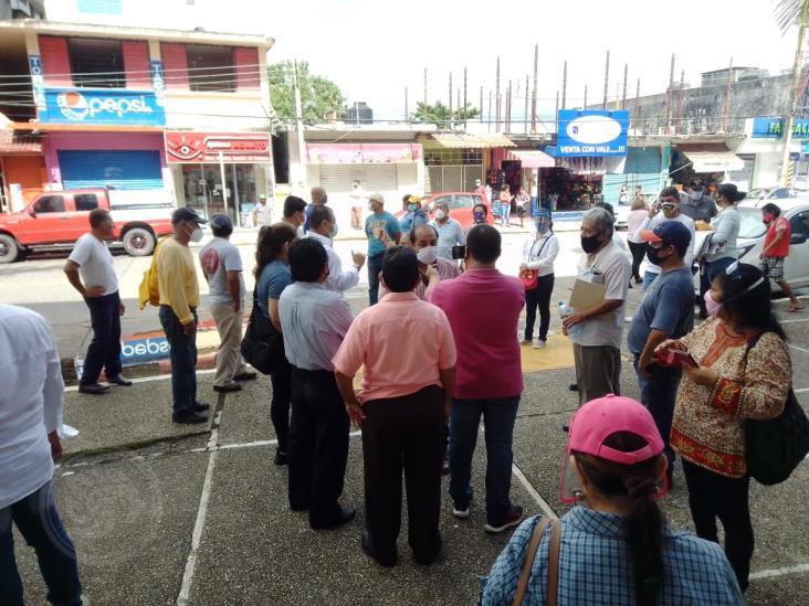 Protesta Resistencia civil contra CFE Minatitlán