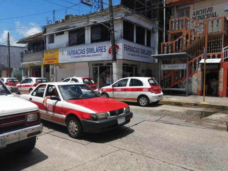 Toman de rehén a taxistas para cometer delitos en Nanchital