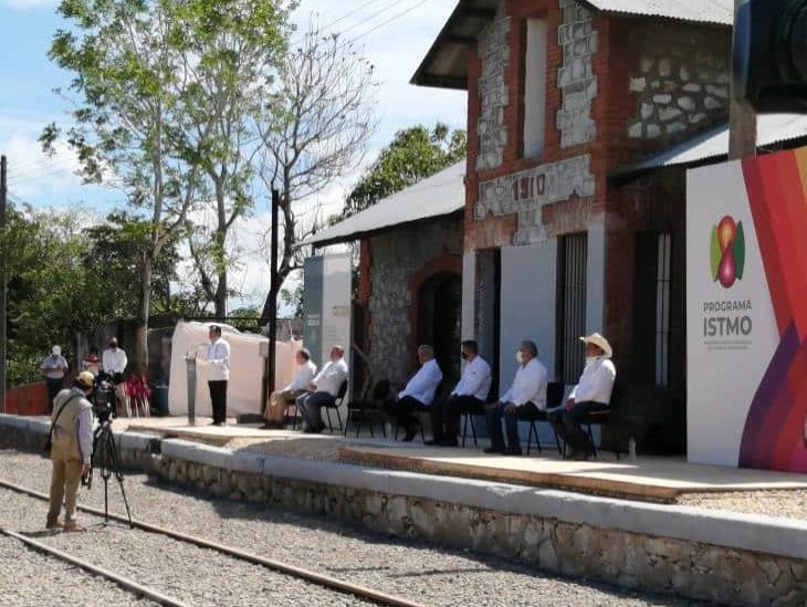 Pandemia desfasó trabajos de Ferrocarriles del Istmo de Tehuantepec