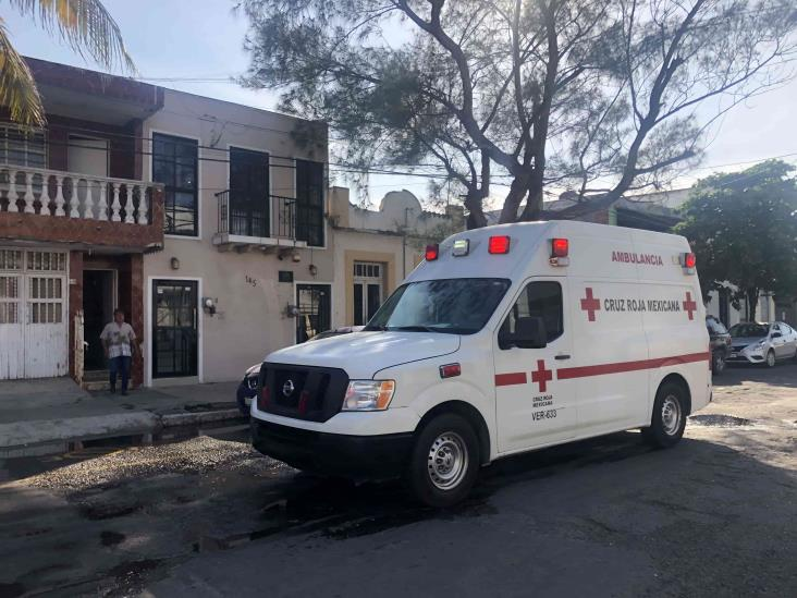 Se registra conato de incendio al interior de un domicilio en Veracruz