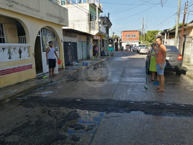 Recurren a pozos artesianos ante la falta de agua potable