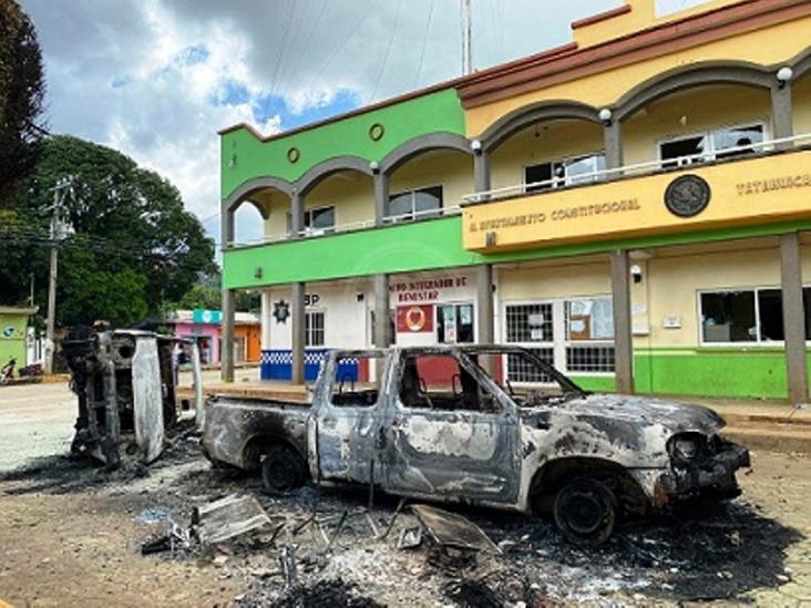 Denuncia Tatahuicapan a causantes de vandalismo en Ayuntamiento