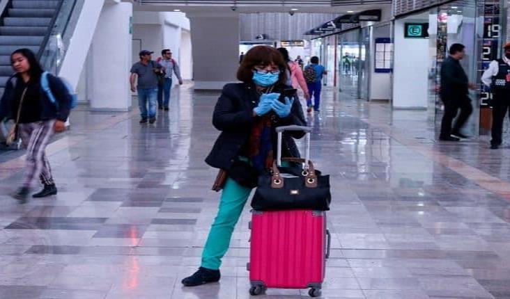 Llegada de turistas internacionales a México se contrae 78% por Covid-19