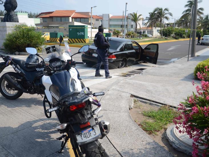 Violenta balacera en zona turística de Boca del Río
