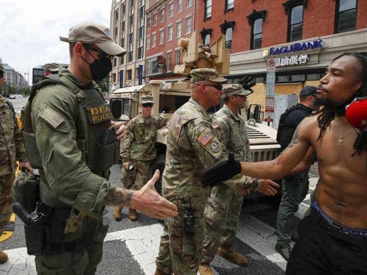Tras protestas de EU, personal de la Guardia Nacional da positivo a coronavirus