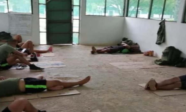 Sedena atiende condiciones ´deplorables´ en que descansaban militares