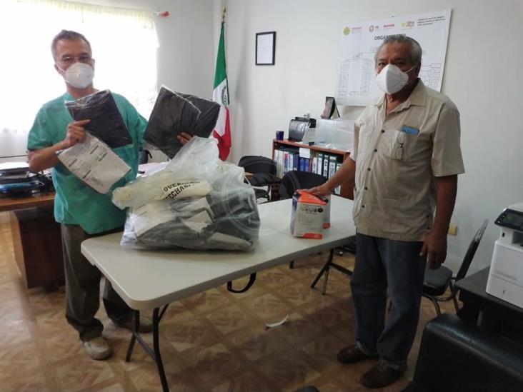 Entregan más insumos al Hospital General de Minatitlán