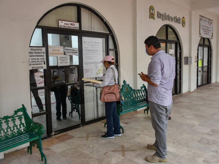 Registro Civil atenderá con previa cita y protocolo