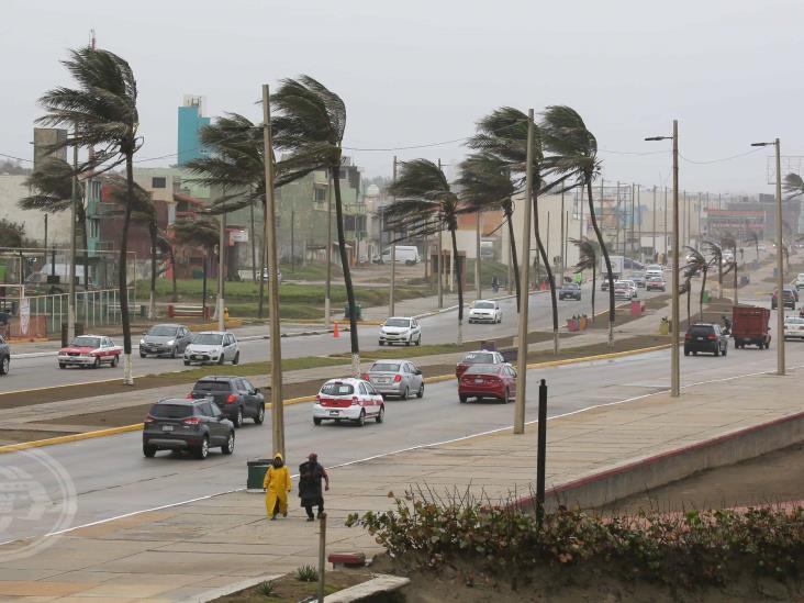 Alerta Gris en Coatzacoalcos; vientos superarán los 75 kilómetros por hora