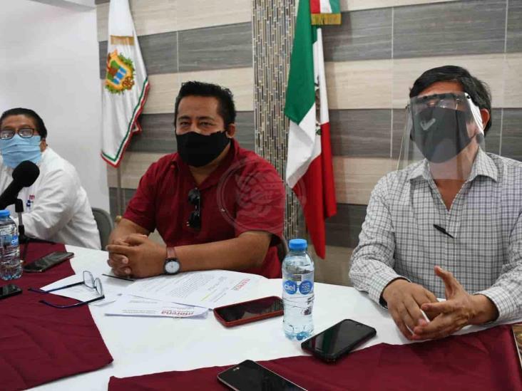 Se confrontan Morena en Veracruz y Yeidckol por compra de inmuebles