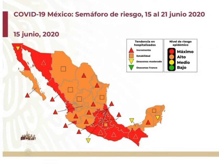 COVID-19: 150,264 casos en México; 17,580 defunciones