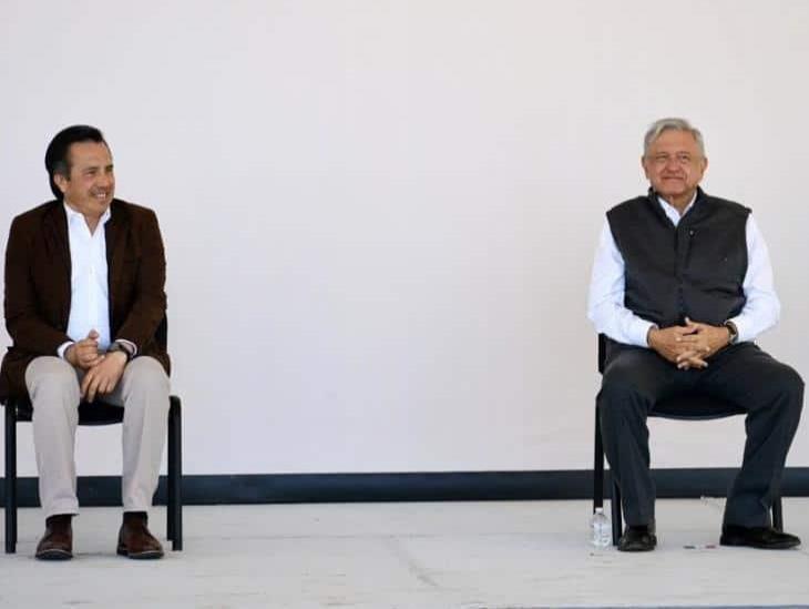 Veracruz tiene un gobernador honesto y con convicciones: AMLO