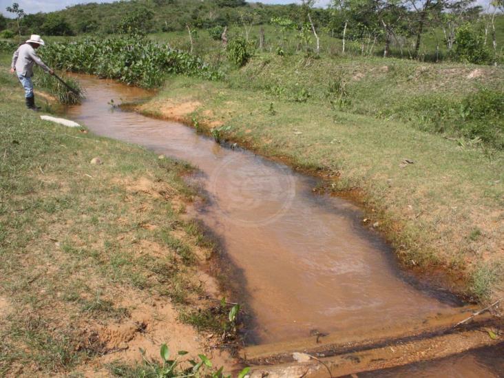 Tormentas atrasan limpieza de derrame de crudo en Las Choapas
