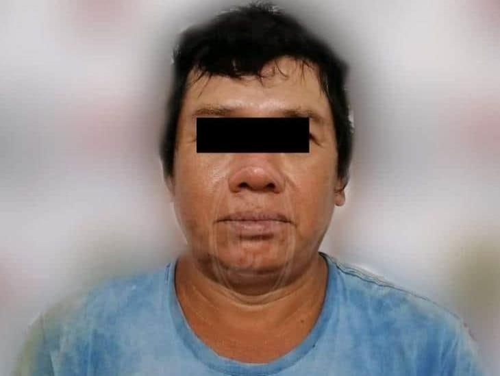 Detienen a comerciante en Soteapan por presunta pederastia