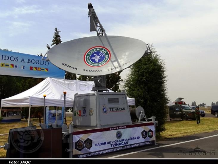 Inicia la operación del radar de vigilancia aérea Tzinacan