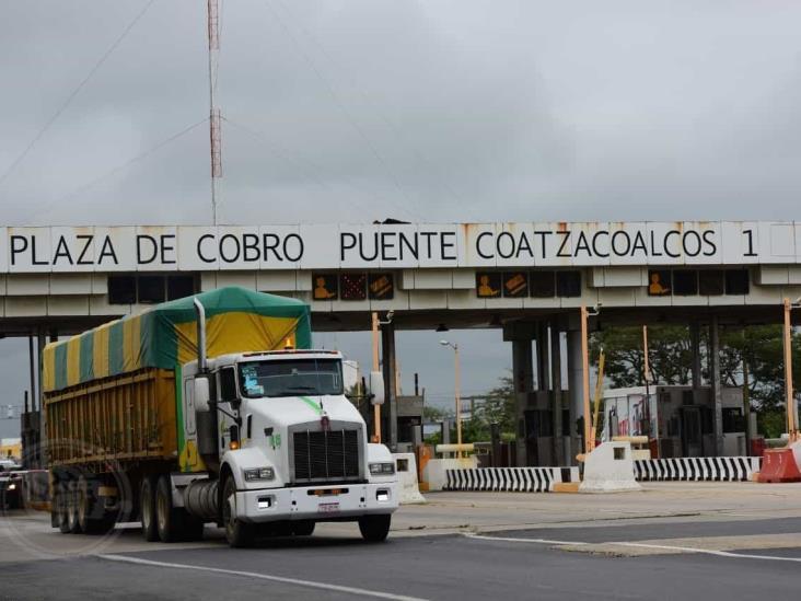 Caseta del Puente Coatzacoalcos 1 no cuenta con facturación