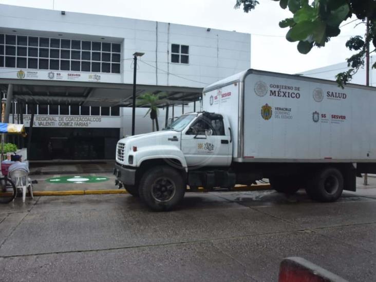 Surten material de curación en Centros de Salud de Coatzacoalcos