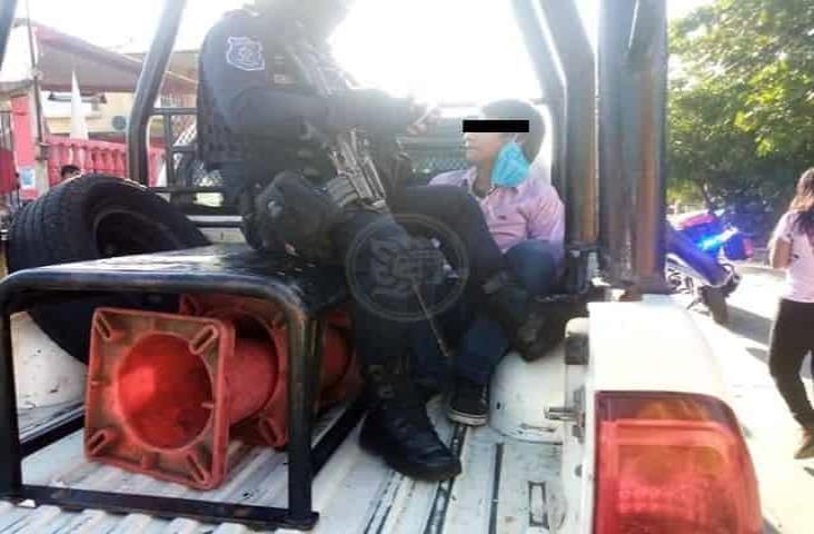 Atrapan a presunto ladrón que pretendía robar en farmacia de Veracruz