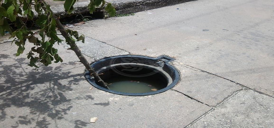 Riesgo de inundación en Las Choapas por saturación en drenajes