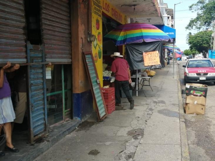 Abren negocios no esenciales en Coatzacoalcos