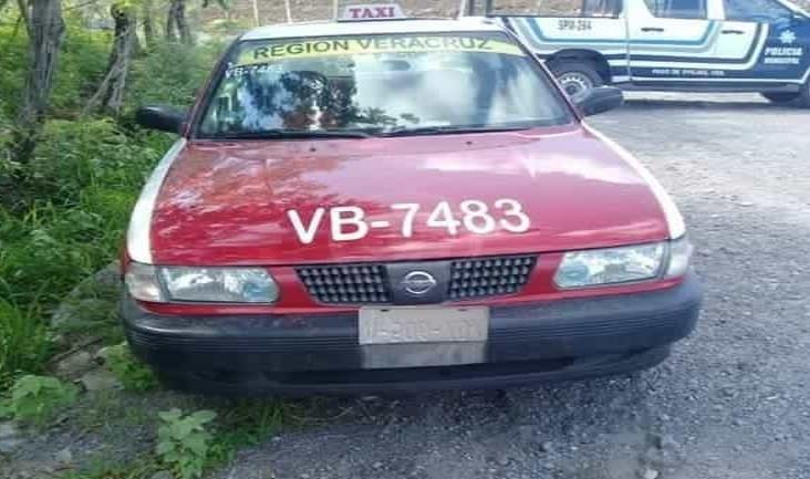 Despojan a taxista de sus pertenencias y su unidad en localidad de Tenenexpan