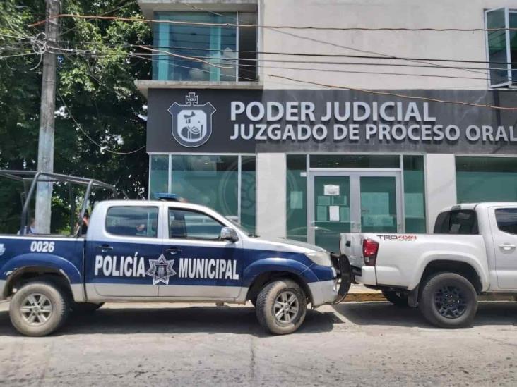 Presentan ante FGR a joven que atropello a pareja en Martínez de la Torre