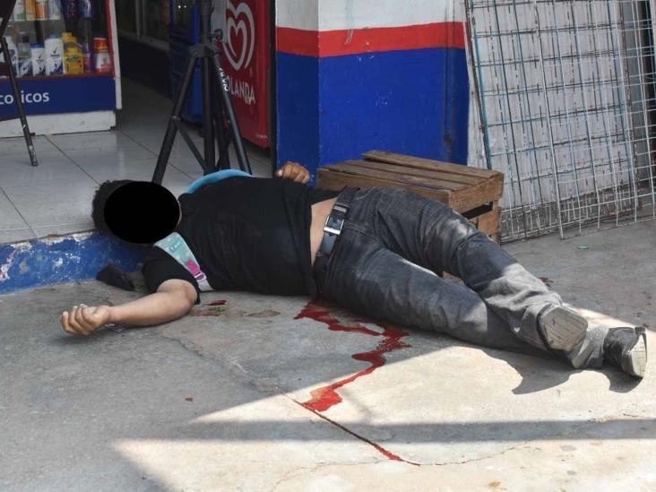 En Acayucan, ejecutan a elemento de la SSP de San Juan Evangelista