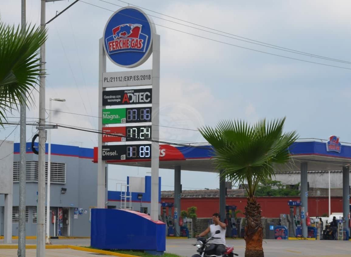 Va de nuevo en aumento el precio de combustibles en Cosolea