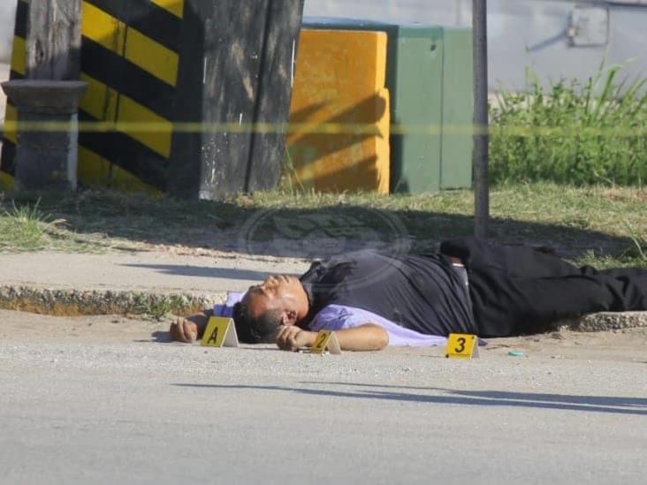 Asesinan a checador de autobuses al poniente de Coatzacoalcos