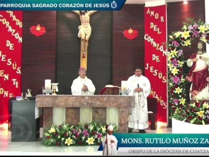 Diócesis conmemoró fiesta patronal del Sagrado Corazón de Jesús