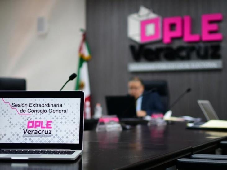 Avala OPLE creación de 4 nuevos partidos en Veracruz