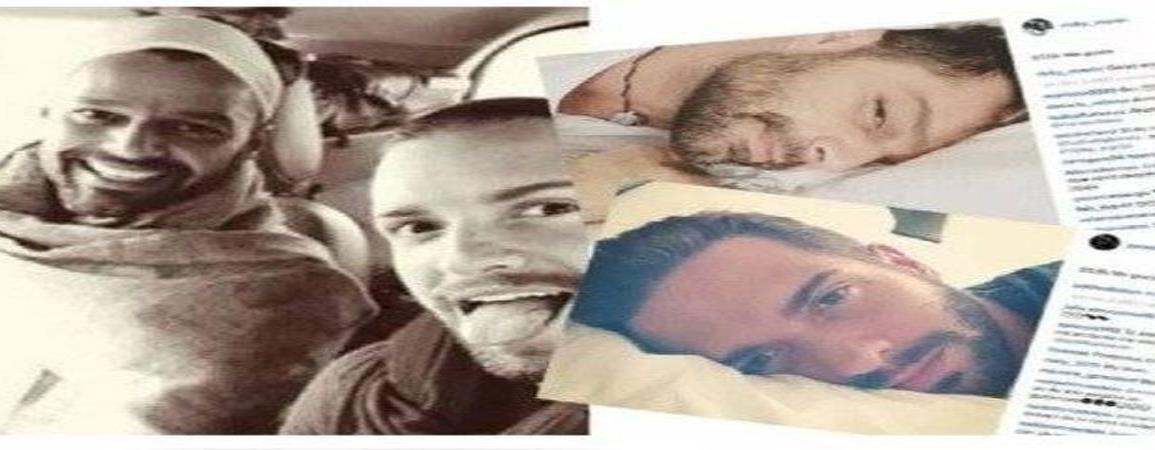 Trascienden rumores sobre romance entre Ricky Martin y Pablo Alborán en el pasado