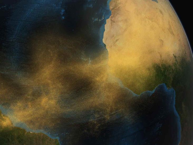 Polvo del Sahara podría llegar al Golfo de México en 10 días