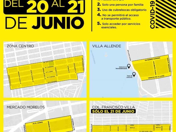 Cerrarán circulación en Coatzacoalcos durante el fin de semana