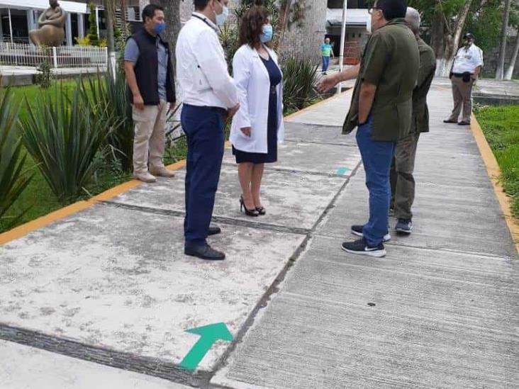 Realizan supervisión a hospitales de IMSS en zona centro