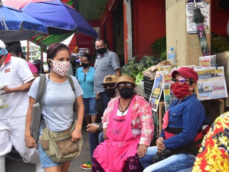 PC realiza actividades de prevención en zonas concurridas de Coatzacoalcos