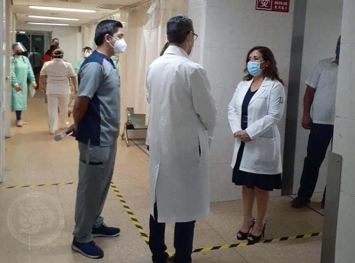 Durante pandemia, hospitales de Minatitlán y Coatzacoalcos trabajan con normalidad