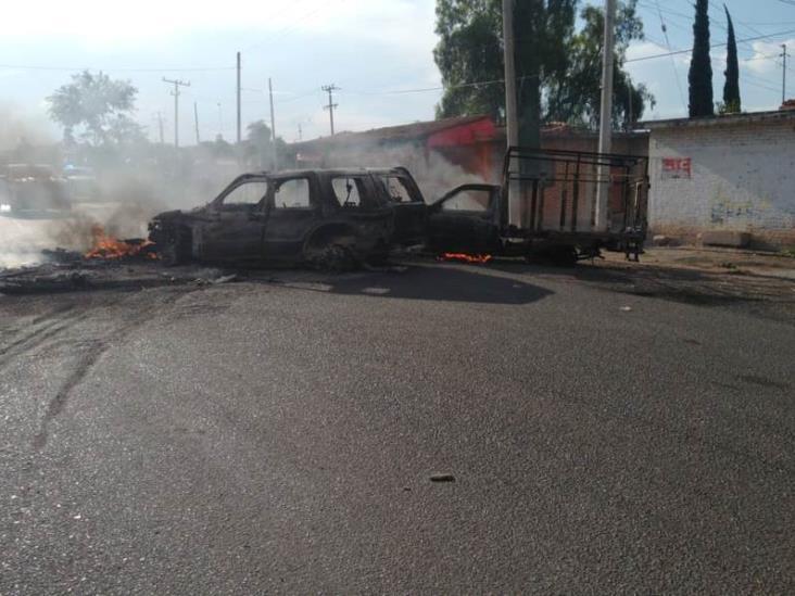 EU lanza alerta de Seguridad tras bloqueos en Guanajuato