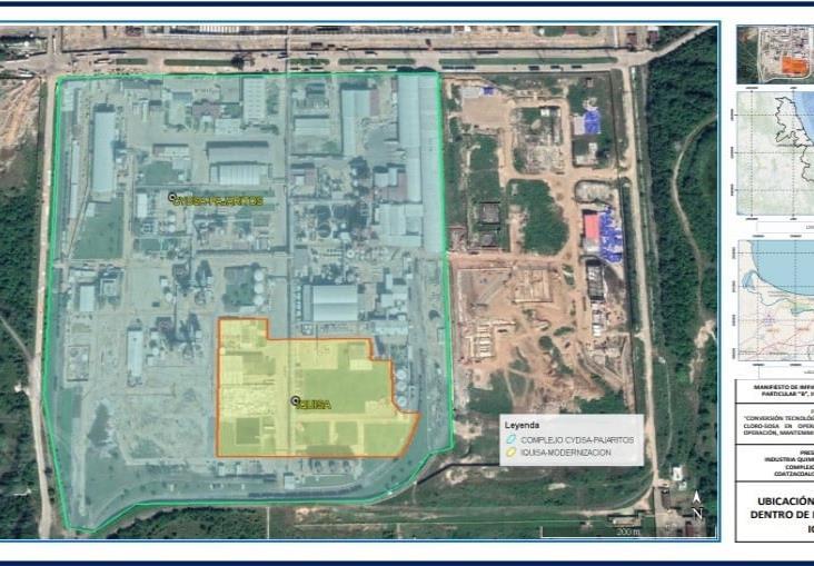 Iquisa solicita Manifiesto de Impacto Ambiental a Semarnat para proyecto de 120 mdd