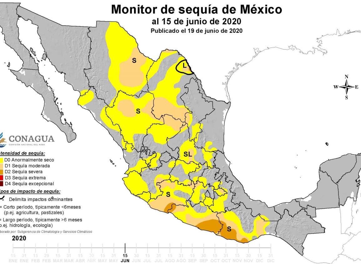Veracruz libra sequía en los primeros 15 días de junio