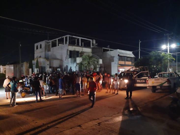 En fraccionamiento de Soconusco lanzan ultimátum a ladrones