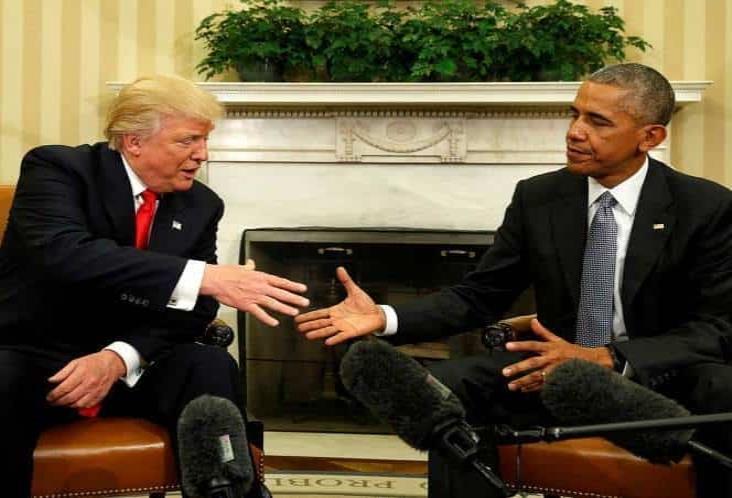 Trump acusa a Obama de traición, sin pruebas