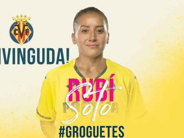 Rubí Soto, máxima goleadora de Chivas, nueva jugadora del Villareal