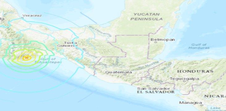 Conagua descarta posible tsunami; Marina monitorea nivel del mar