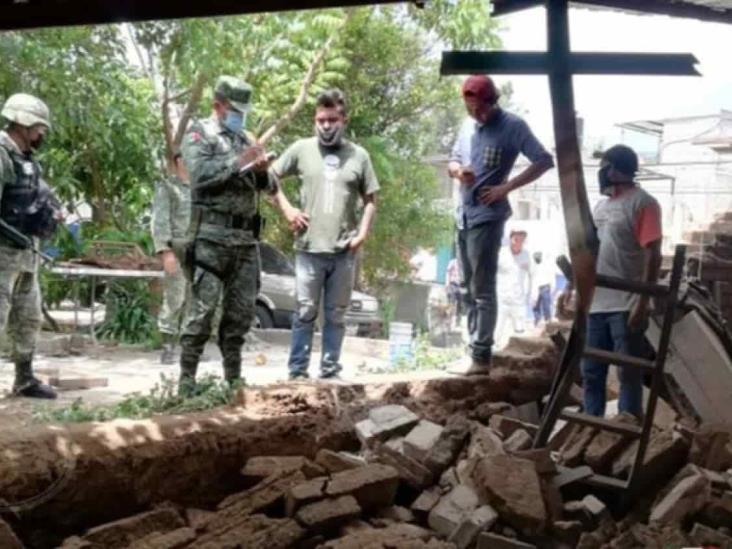 Activan plan DN-III-E en Oaxaca tras declaratoria de emergencia para 50 municipios