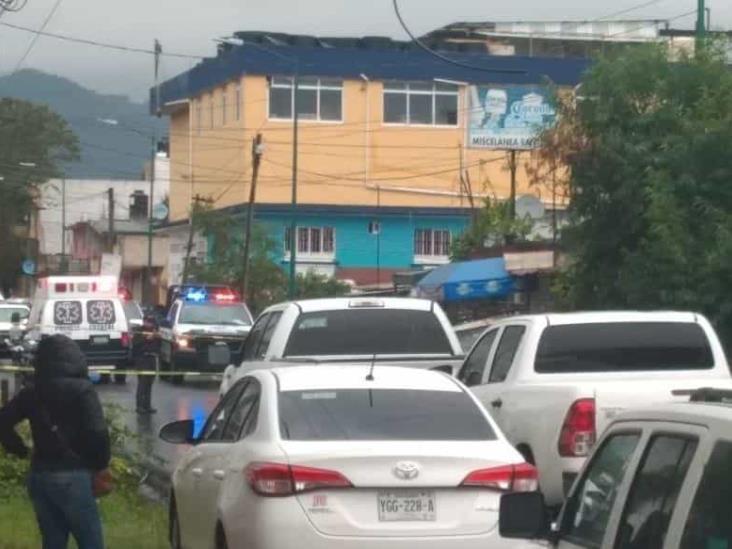 Asesinan a balazos a mujer socorrista en calles de Xalapa