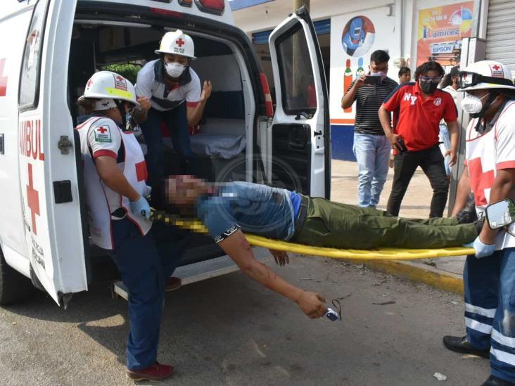 Tras ataque a balazos en Acayucan, muere empleado de Limpia Pública de Sayula