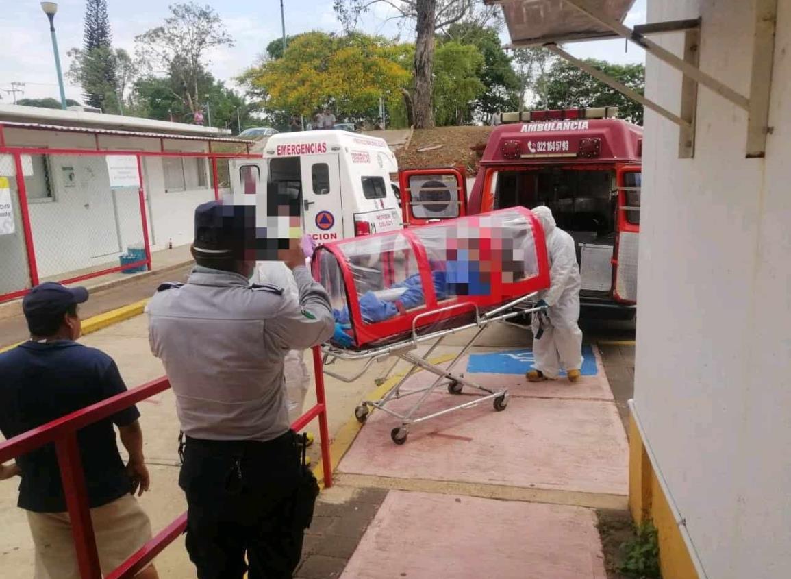 En Acayucan, aíslan a migrante hondureño por síntomas de Covid-19