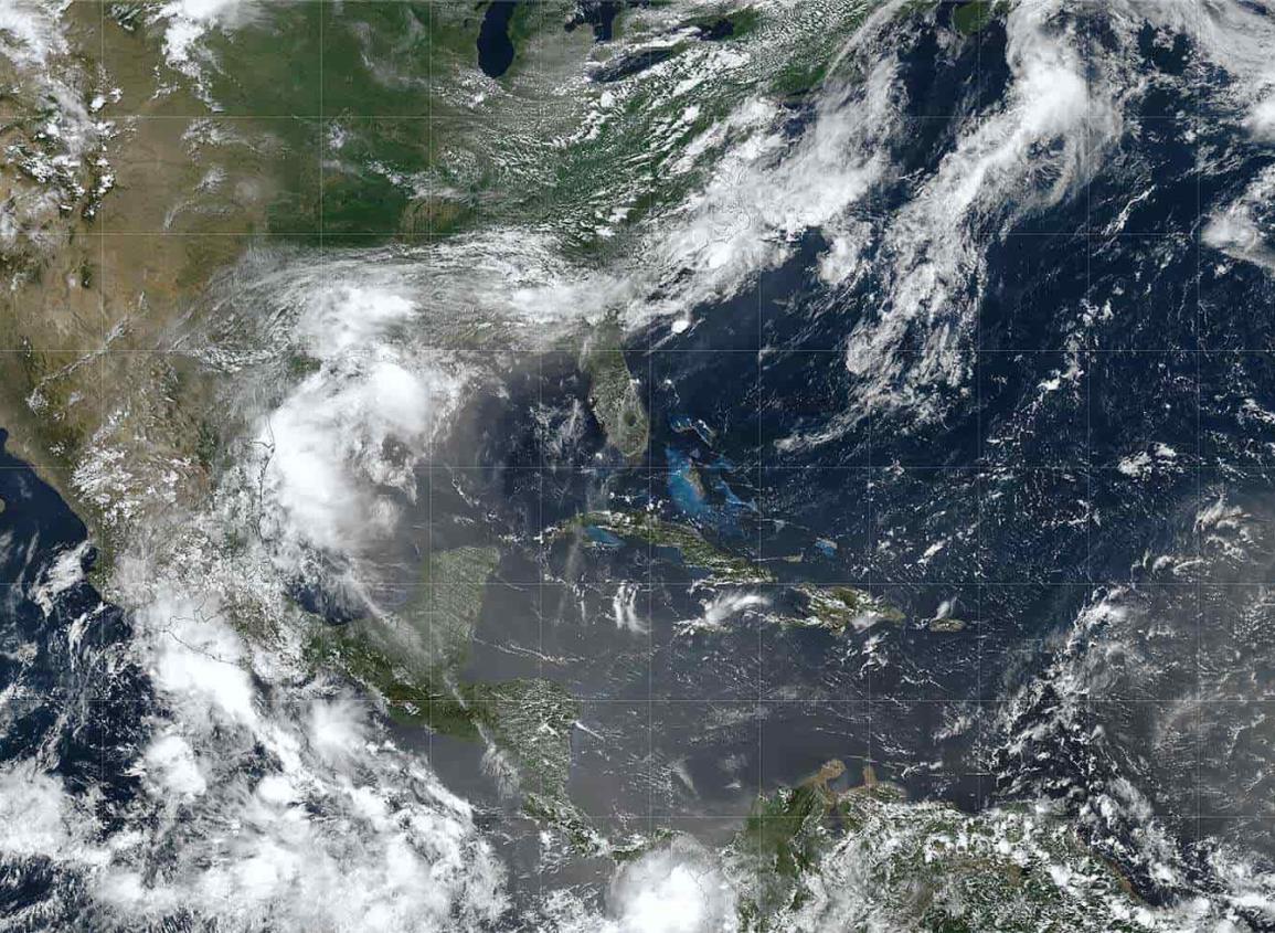 Lluvias, barrera contra el polvo del Sahara en Veracruz