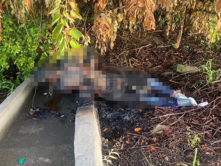 Hallan cuerpo quemado y con signos de tortura en la Córdoba-Veracruz